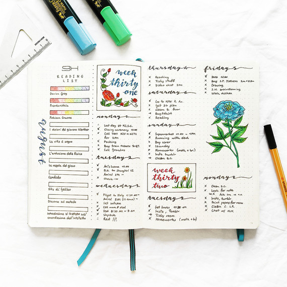 le bullet journal is quickly gaining popularity as an organizational method.