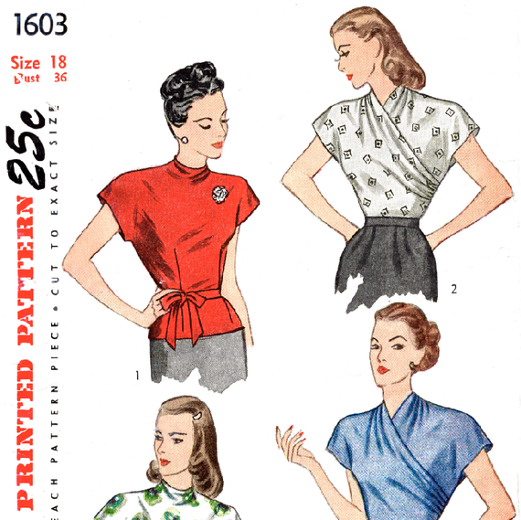 ancien sewing pattern